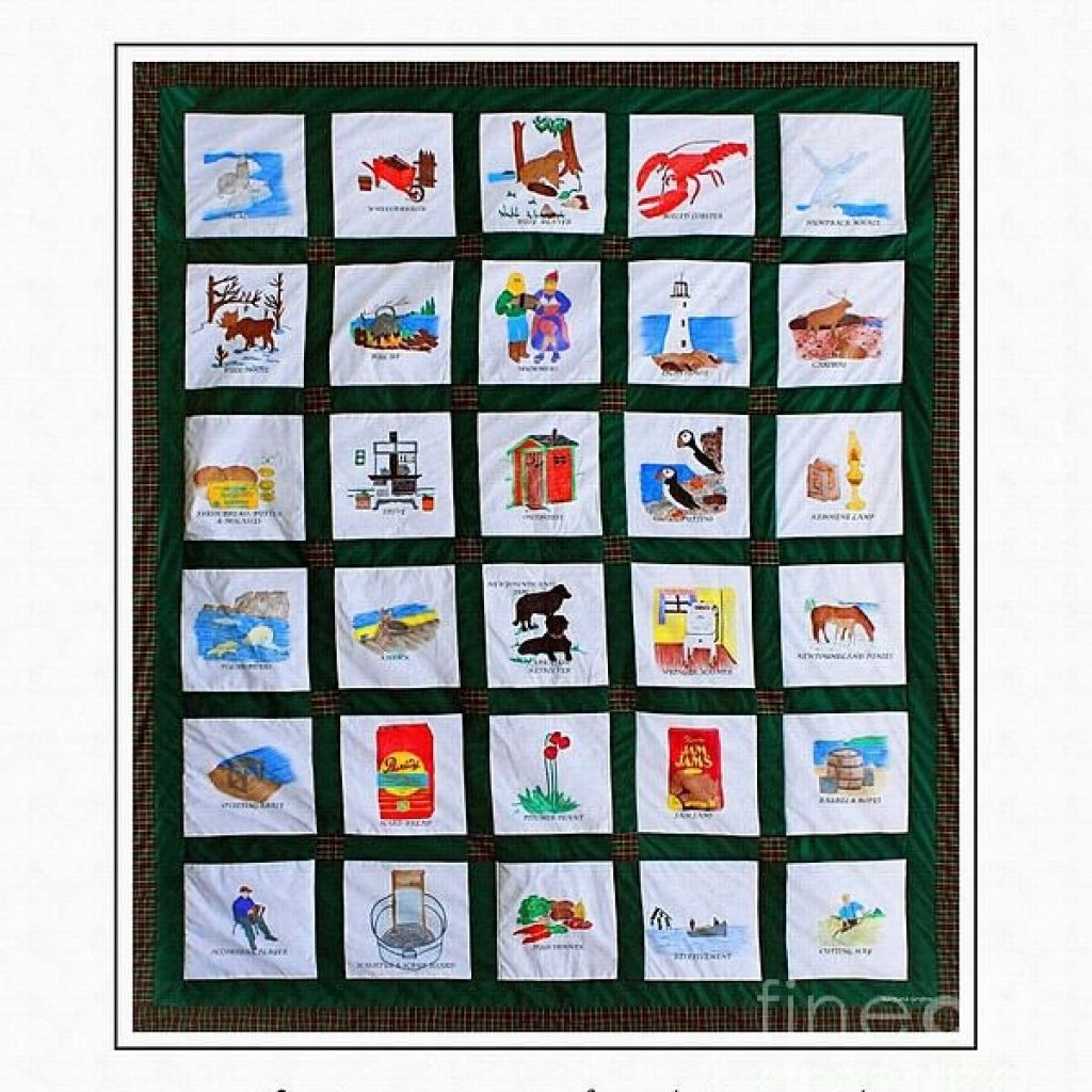 a photographic image of a real newfoundland heritage quilt Cool Newfoundland Haritage Quilt Patterns Gallery