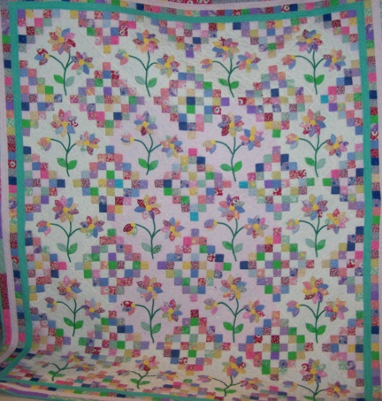 a pretty quilt youll love calling your own quilting digest Elegant Oopsie Daisy Quilt Pattern