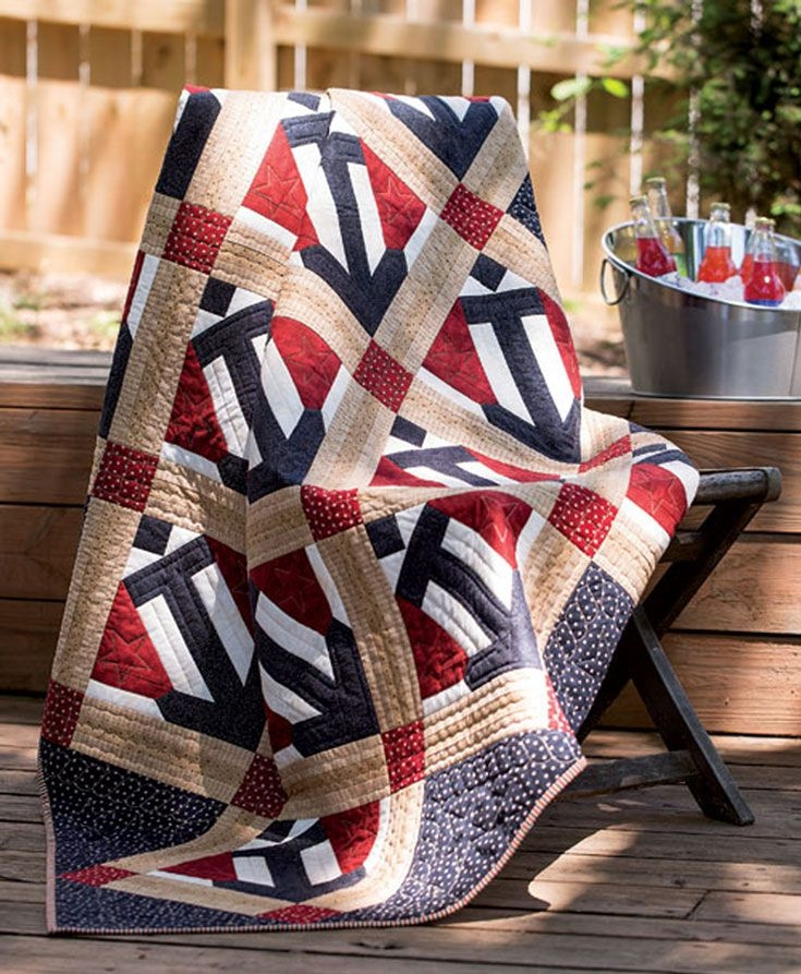 about fons porter a division of patriotic quilt Fons And Porter Patriotic Quilt Patterns Inspirations
