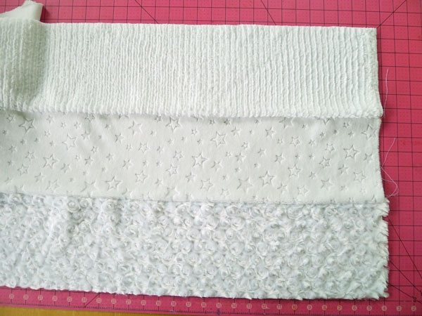 all white quilt cuddle in a day fairfield world craft Cozy All White Quilt Patterns Inspirations