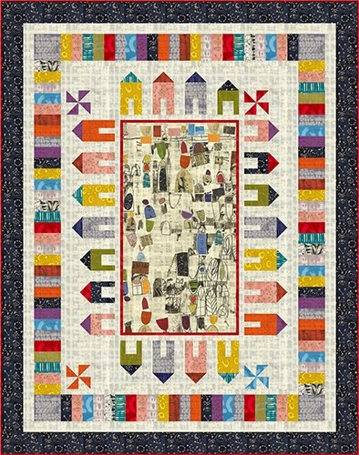 around the block quilt kit marcia derse Around The Block Quilt Pattern Gallery