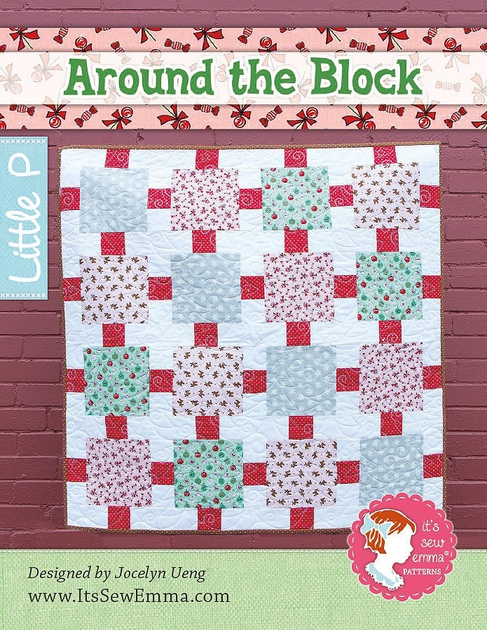 around the block quilt pattern its sew emma little p ise Around The Block Quilt Pattern Gallery