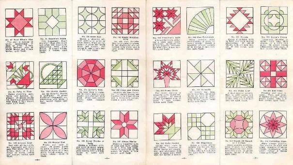 aunt martha Cool Vintage Quilt Pattern Names