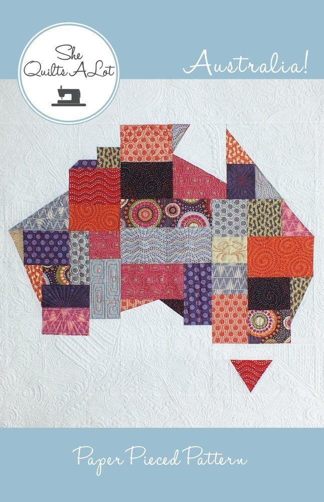 australia quilt pdf pattern she quilts alot quilt Modern Quilting Patterns Australia Gallery