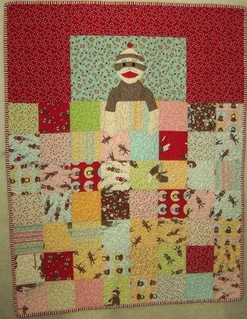 ba cashiliciouss second quilt quilts quilts quilts Unique Sock Monkey Quilt Pattern Inspirations