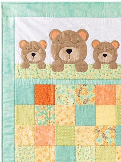 ba quilts sweet dreams ba bear quilt pattern ba zuzu Elegant Teddy Bear Quilt Patterns Gallery