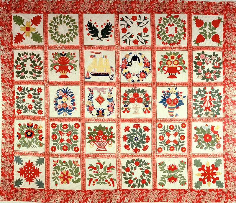 baltimore album quilt museum blogs Baltimore Album Quilt Patterns