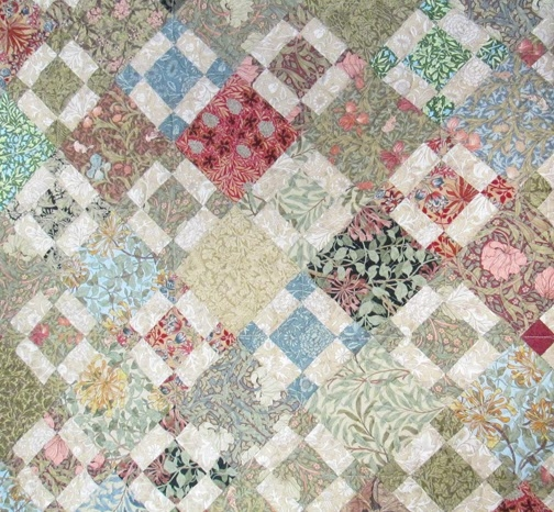 barbara brackmans material culture bettys william morris Cool William Morris Quilt Patterns Inspirations