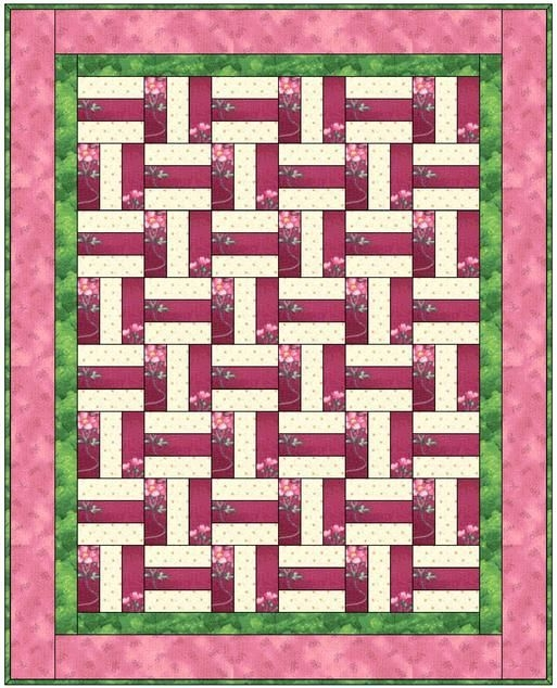 basket weave quilt quilts basket weaving rail fence Unique Basket Weave Quilt Pattern