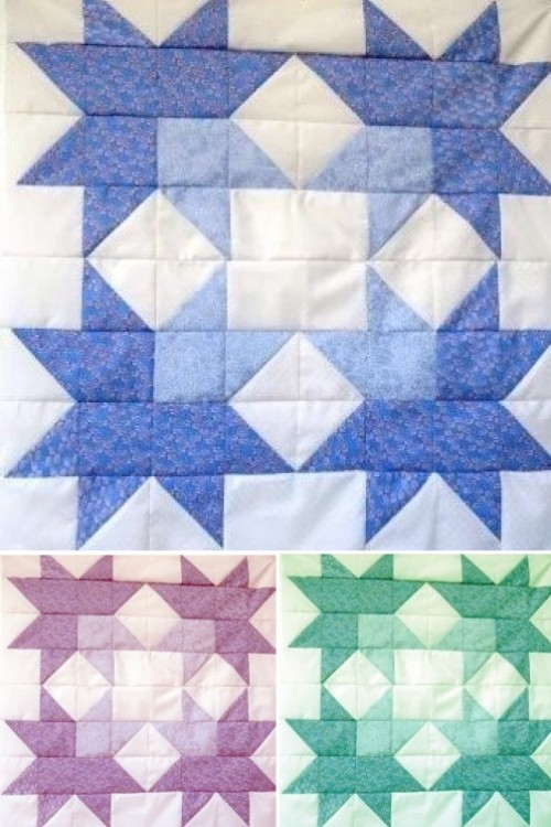 beautiful skills crochet knitting quilting jackson star Elegant Jackson Star Quilt Pattern