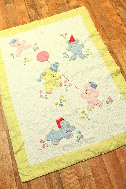 beautiful vintage ba quilt ba items vintage Modern Vintage Baby Quilts Inspirations