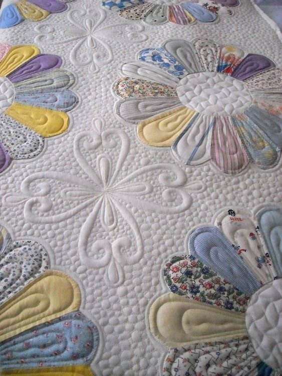 beckys dresdens quilting hand quilting designs machine Unique Dresden Plate Quilt Patterns Inspirations