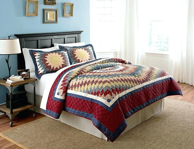 bed quilts and coverlets boltonphoenixtheatre country living Cozy Country Living Classic Vintage Quilt Set