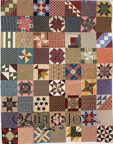 beverlys civil war reproduction sampler quilt Civil War Reproduction Quilt Patterns Inspirations