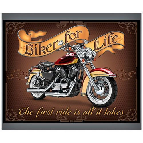 biker for life fabric panel motorcycle fabric 36 x 44 Cozy New Harley Davidson Fabric For Quilting