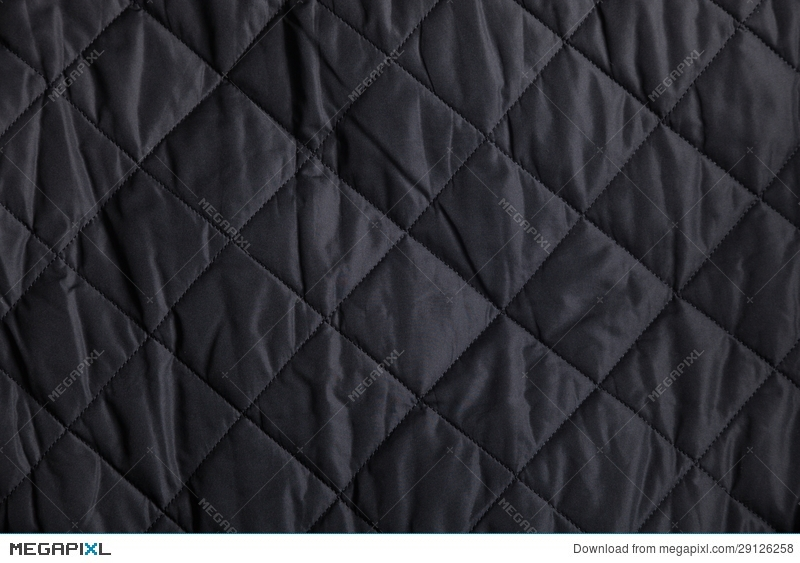 black quilted fabric background stock photo 29126258 megapixl Stylish Black Quilted Fabric Inspirations