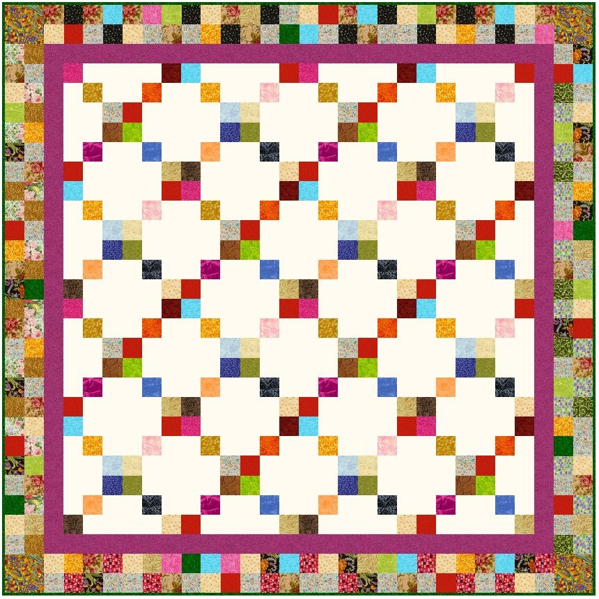 block ideas using 2 12 inch strips 2 1 2 Strip Quilt Patterns