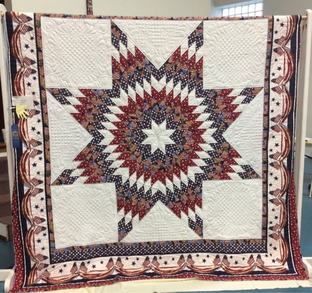 blue ribbon quilting jackson county quilt show part 1 Elegant Jackson Star Quilt Pattern
