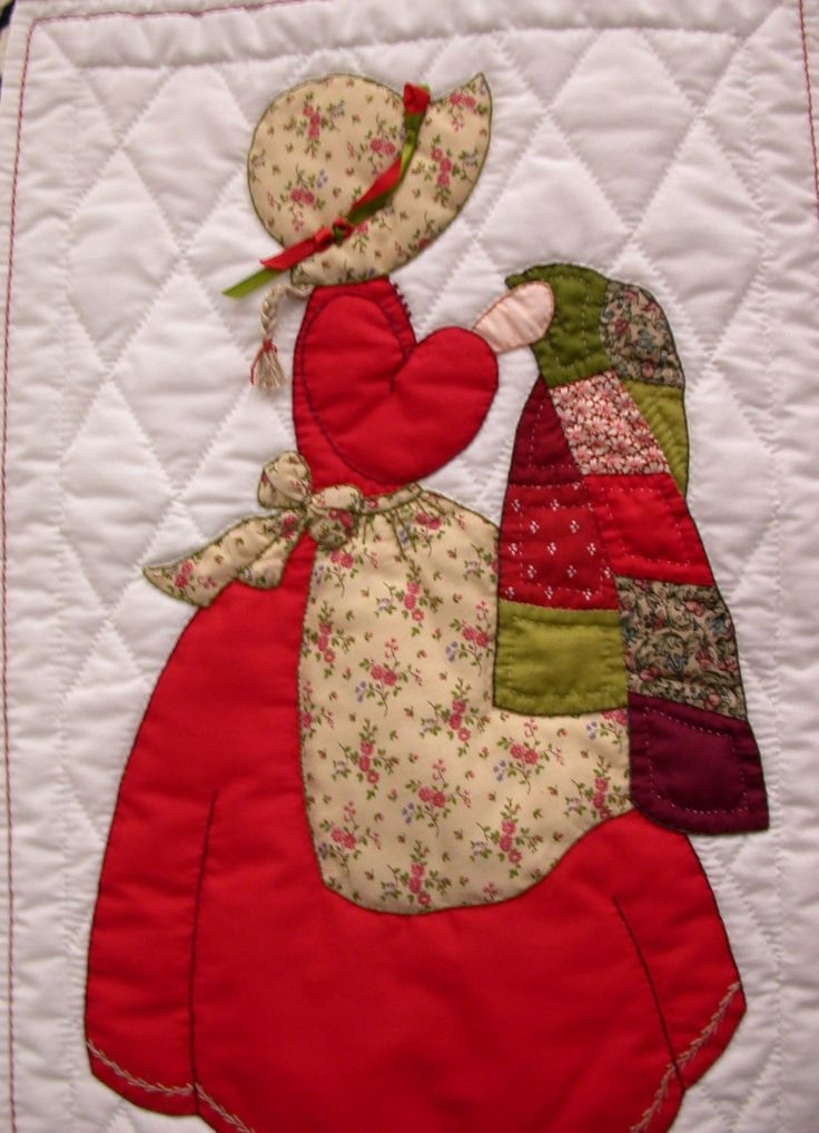 bonnet girls quilt patterns pattern ordering and general Cozy Bonnet Girl Quilt Pattern Inspirations