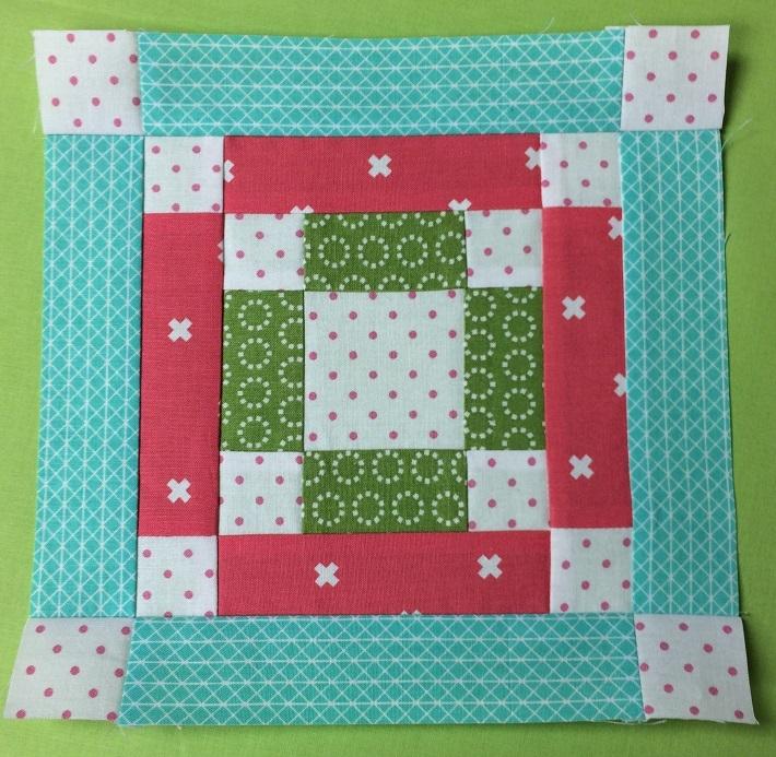 bonus scrappy bom easy quilt block pattern Interesting Easy Quilt Block Patterns