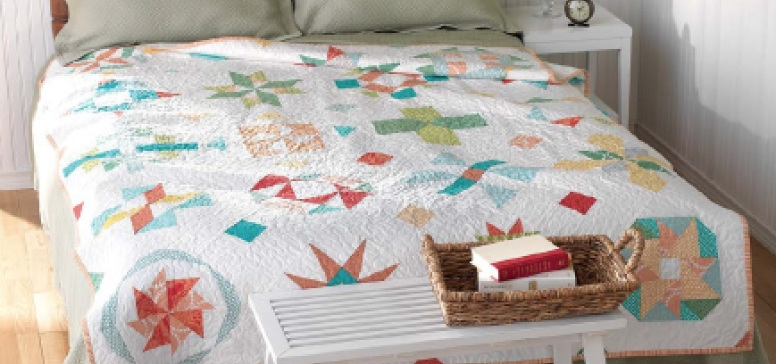 book of the month january 2014 vintage quilt revival the Modern Vintage Quilt Revival