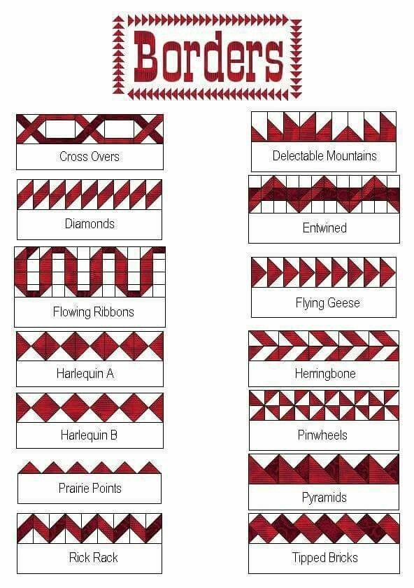 Cozy Quilt Border Patterns Designs