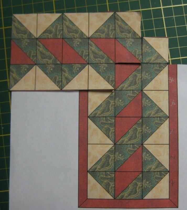 border with hst crafts quilting quilt boarders quilt Elegant Half Square Triangle Quilt Borders