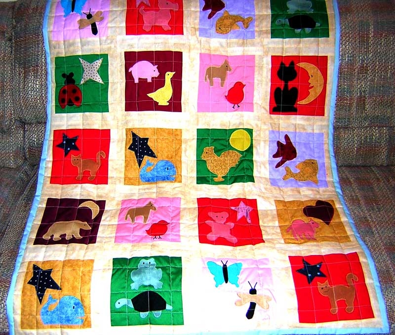 boys applique quilt pattern freeapplique Stylish Little Boy Quilt Patterns Gallery