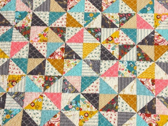 broken dishes quilt free quilt patterns Modern Broken Dishes Quilt Pattern