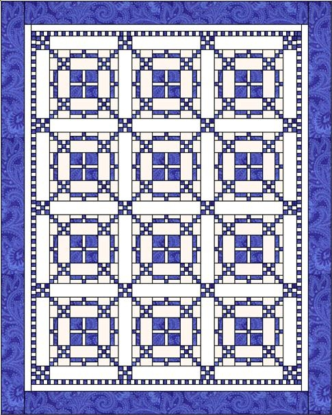 burgoyne surrounded week one lyn browns quilting blog Interesting Burgoyne Surrounded Quilt Pattern