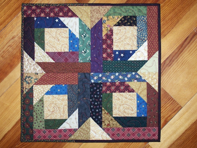 busy hands quilts pineapple star log cabin quilt Modern Pineapple Log Cabin Quilt Pattern Gallery