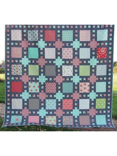 castle dreams quilt pattern Interesting Layer Cake Quilt Patterns
