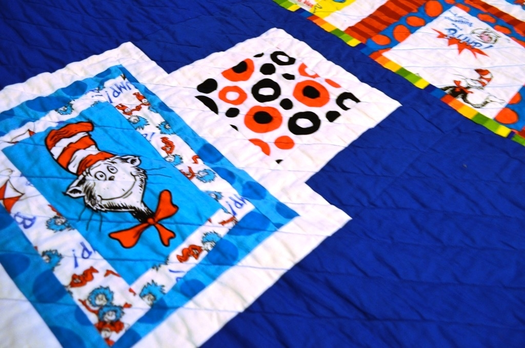 cat in the hat quilt Interesting Cat In The Hat Quilt Pattern