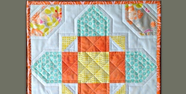 celtic cross mini quilt for your wall or table quilting digest Modern Celtic Cross Quilt Pattern Gallery