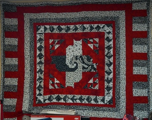 challenge quilts quilting gallery Cozy Twisted Tails Mystery Quilt Gallery