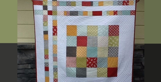 charm square cheat ba quilt with cozy flannel backing Stylish Charm Square Quilt Patterns Gallery