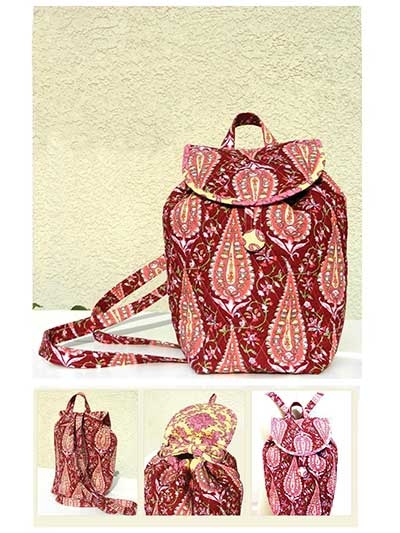 chelsea backpack sewing pattern Cozy Quilted Backpack Pattern Gallery