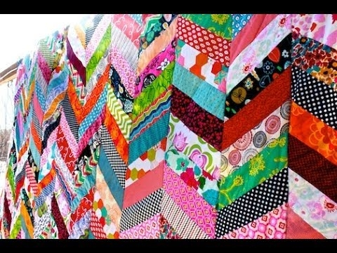 chevron column quilt tutorial Stylish Jelly Roll Chevron Quilt Pattern Gallery