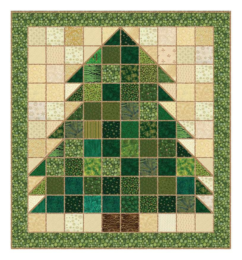 christmas tree rag quilt pattern Christmas Tree Rag Quilt Pattern Gallery