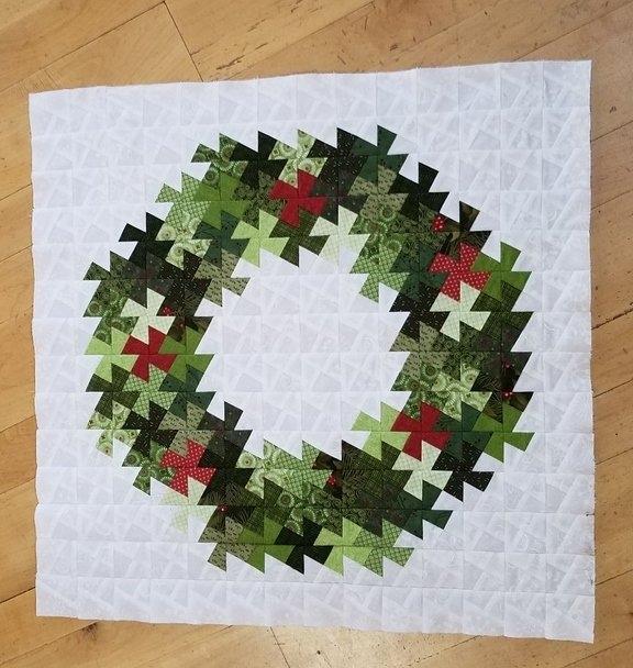 christmas wreath pinwheel twist Interesting Twister Quilt Pattern Wreath Gallery