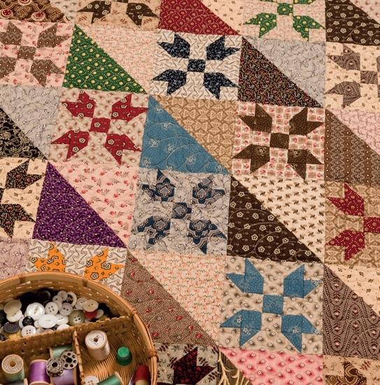 civil war legacies ii 17 small quilt patterns for reproduction Civil War Quilts Patterns