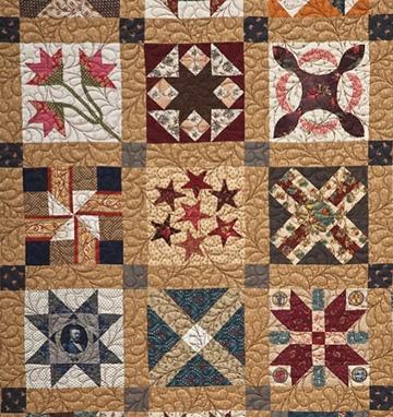 civil war quilts period quilting Civil War Quilts Patterns