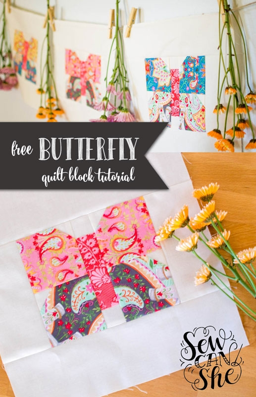 classic blocks fresh fabric a butterfly quilt block Cozy Butterfly Quilt Block Pattern Inspirations