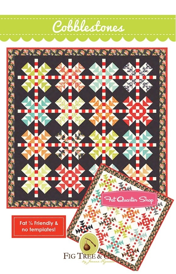 cobblestones quilt pattern fig tree quilts ftq 1305 fat Interesting Cobblestone Quilt Pattern