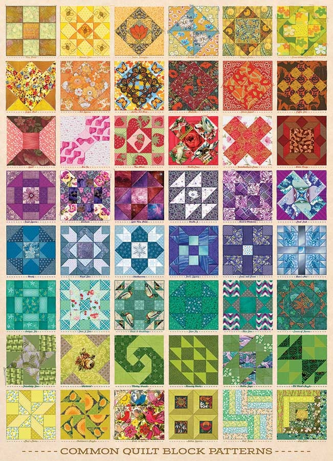 common quilt blocks Modern Quilt Block Patterns