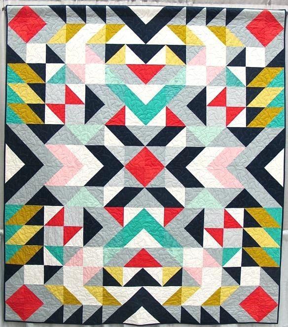 contemporary patchwork quilt designs contemporary patchwork Modern Patchwork Quilt Patterns Inspirations