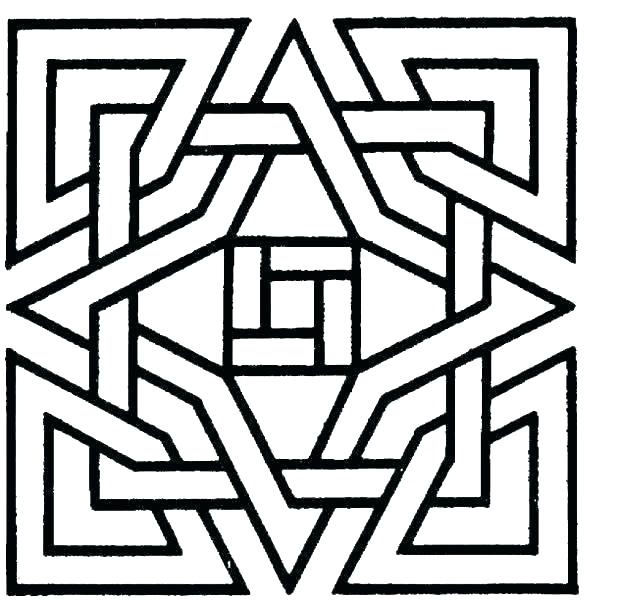 cool geometric patterns quilt pattern coloring pages designs Modern Quilt Pattern Coloring Pages Inspirations