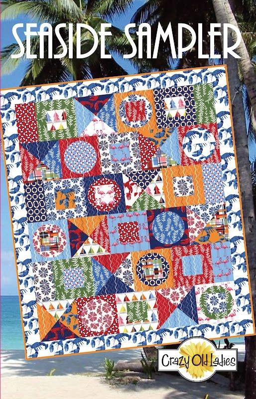 crazy old ladies quilts new est patterns seaside sampler Crazy Old Ladies Quilt Patterns Inspirations