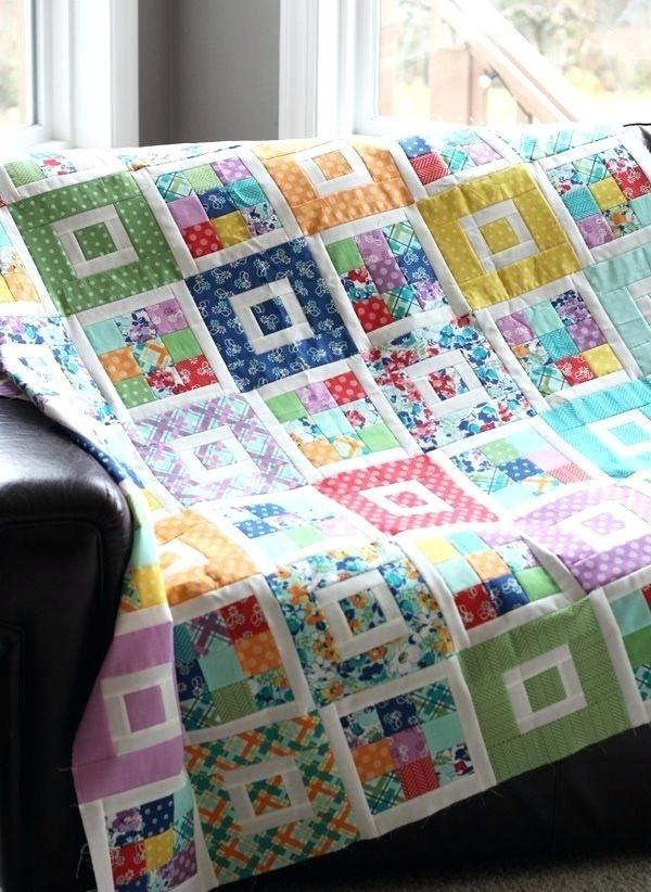crazy patchwork quilt pinterest shortcake quilt pattern Interesting Quilting Patterns Pinterest