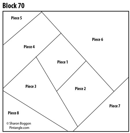 crazy quilt block 70 free pattern pintangle Cozy Crazy Quilt Block Patterns Gallery